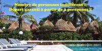Profitez en groupe ou en individuel d'un séjour balnéaire au Sénégal à l'hôtel Les bougainvillées à partir de 2 personnes